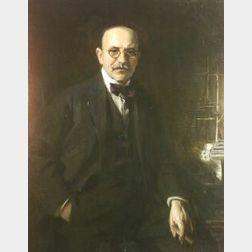 Irving Ramsey Wiles (American, 1861-1948)  Portrait of Max Williams, Esq.
