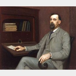 William McGregor Paxton (American, 1869-1941)  My Father, James Paxton
