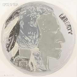 Andy Warhol (American, 1928-1987)      Indian Head Nickel