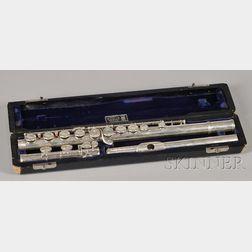American Silver Flute, William S. Haynes Company, Boston, 1961