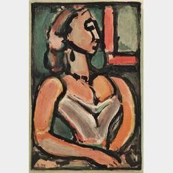 Georges Rouault (French, 1871-1958)      Femme fière