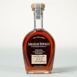 Abraham Bowman 8 Years Old 2004, 1 750ml bottle