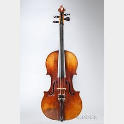 German Violin, Heinrich Th. Heberlein, Jr., Markneukirchen, 1926