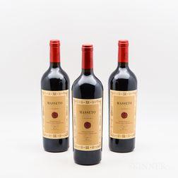 Tenuta dellOrnellaia Masseto 1998, 3 bottles