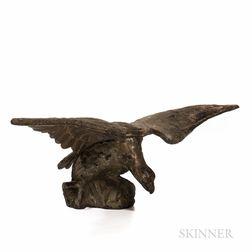 Cast Iron Spreadwing Eagle Figure