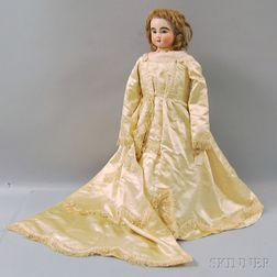 Large Kid-bodied Parisian Lady Doll