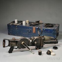 """WWII Japanese """"Rokuoh-Sha"""" 35mm Machine Gun Camera"""
