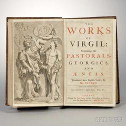 Dryden, John (1631-1700) Works of Virgil.