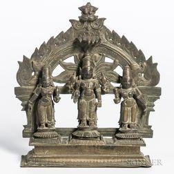 Bronze Shrine of Vishnu