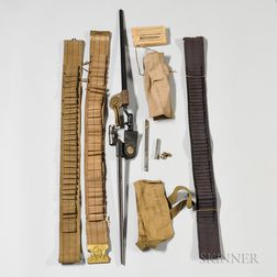 Group of Spanish American War-era Objects