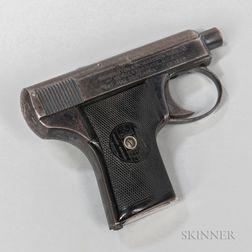 Harrington & Richardson Arms Co. Self-loading Semiautomatic Pistol