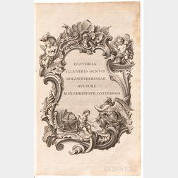Gatterer, Johann Christoph (1727-1799) Historia Genealogica Holzschuherorum.