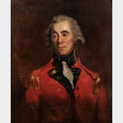 Attributed to Sir William Beechey (British, 1753-1839)      Portrait of an Officer, Said to be Lieutenant-General Sir Thomas Picton