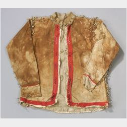 Athabascan Hide and Cloth Jacket
