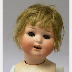 Heubach Koppelsdorf Bisque Head Character Baby