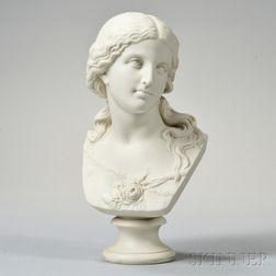 Copeland Parian Bust of Love