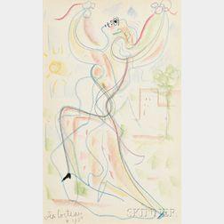Jean Cocteau (French, 1889-1963)      Le Danseur