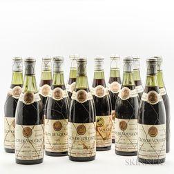 Jaboulet Vercherre Clos Vougeot 1976, 12 bottles