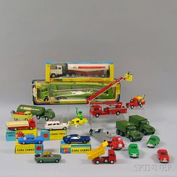 Nineteen Corgi Toys Vehicles