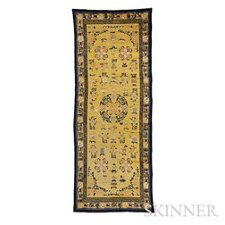 """Chinese """"Hundred Antiques"""" Rug"""