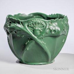 Art Nouveau-style Pottery Jardiniere