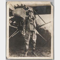 Lindbergh, Charles (1902-1974) Signed Photograph.