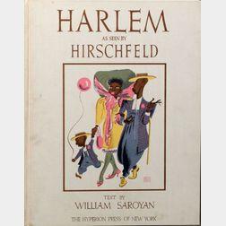 Saroyan, William (1908-1981) and Al Hirschfeld