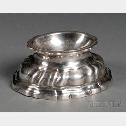German Silver Trencher Salt
