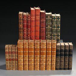 Decorative Bindings, Erotica, Twenty-four Volumes.