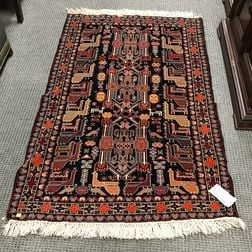 Southwest Persian Rug with Animals