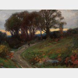 Harold C. Dunbar (American, 1882-1953)      The Walk Home