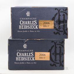 Charles Heidsieck Brut Millesime 2006, 12 bottles (2 x oc)