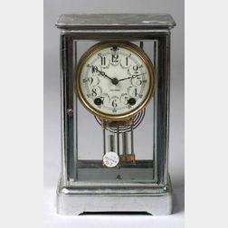 Seth Thomas Chromed Mantel Clock