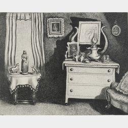 Wanda Gag (American, 1893-1946)      Grandma's Parlor