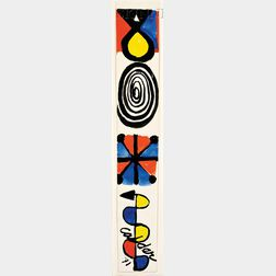 Alexander Calder (American, 1898-1976)      Arrow Left