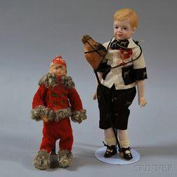 Two Small Boy Dolls