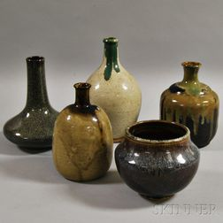 Five Ceramic Items