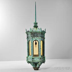 Bronze Architectural Lamp
