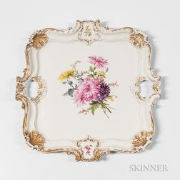 Meissen Porcelain Tea Tray