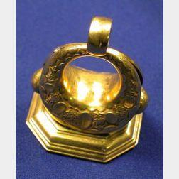 Antique 14kt Gold Fob