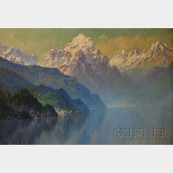 Hezekiah Anthony Dyer (American, 1872-1943)      Lake Como