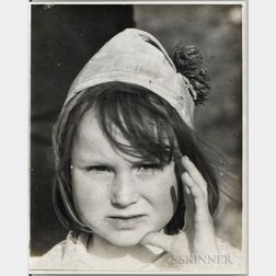 Walker Evans (American, 1903-1975)       Portrait of a Child