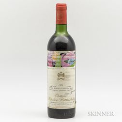Chateau Mouton Rothschild 1975, 1 bottle