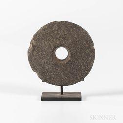 New Guinea Stone Club Head