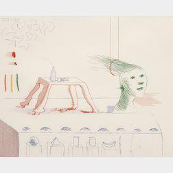 David Hockney (British, b. 1937)      A Moving Still Life