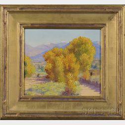 Henry C. Balink (1882-1963)      Landscape Near Santa Fe