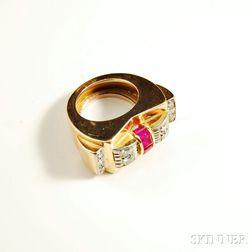 Retro Rose Gold Ring