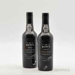 Dows Vintage Port 2007, 2 demi bottles