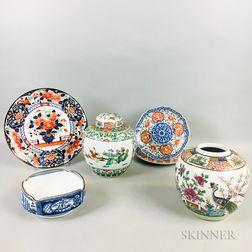 Six Ceramic Items
