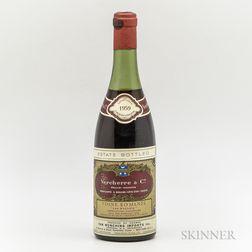 Vercherre & Co Vosne Romanee Les Suchots 1959, 1 bottle